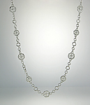 Silver Necklace by Sarah Richardson