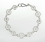 Silver Bracelet by Sarah Richardson