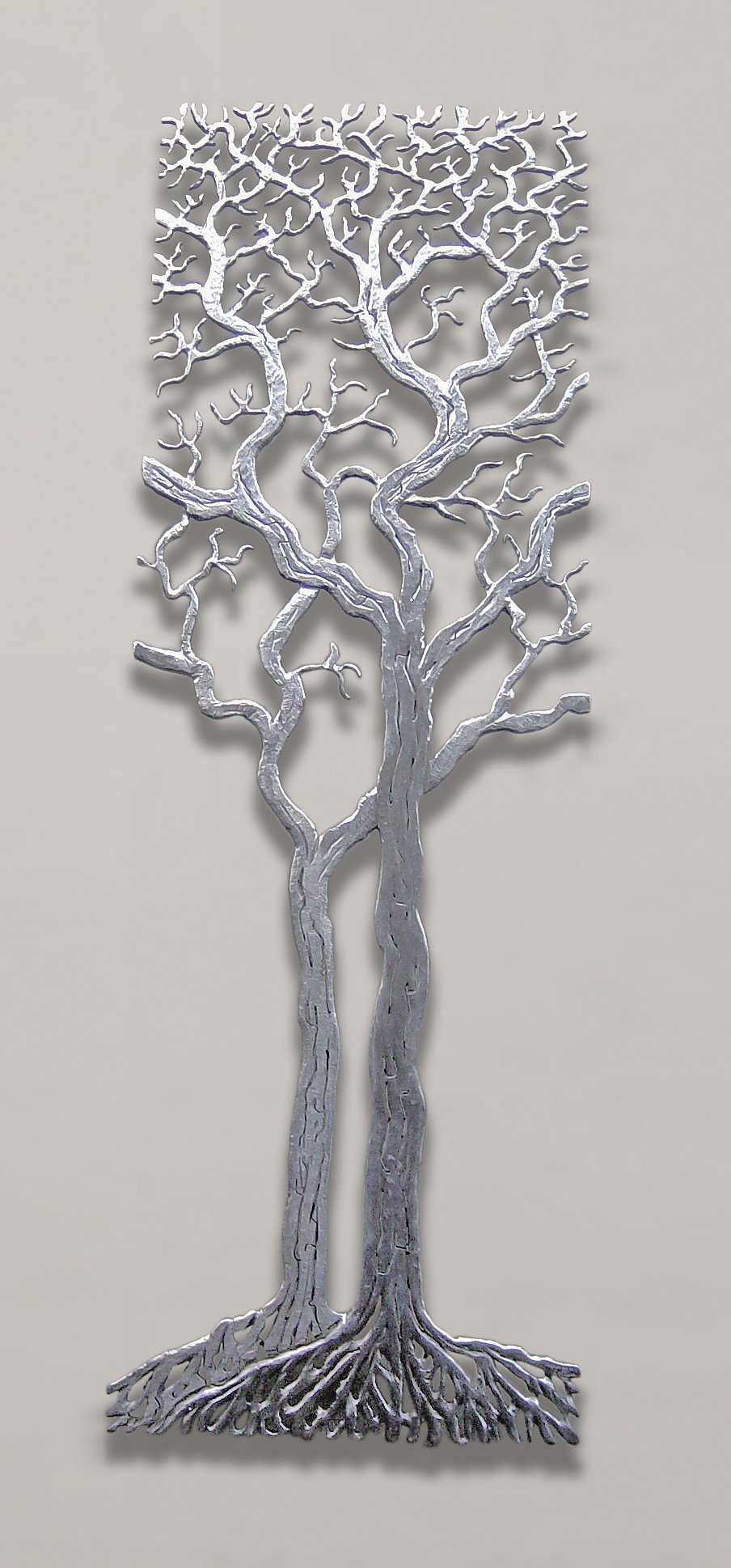 Metal tree sculpture wall decor : Centuries tree by bernard collin metal wall art artful