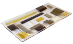 Art Glass Tray by Renato Foti