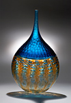 Art Glass Vase by Chris McCarthy