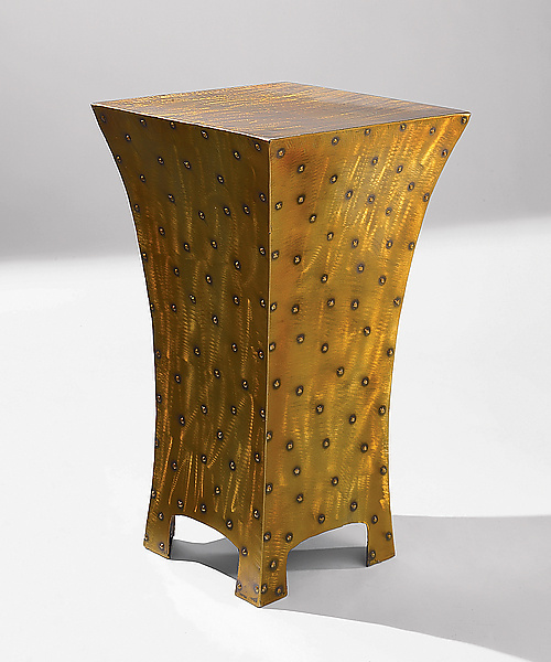 Club End Table - Metal End Table - by David Coddaire