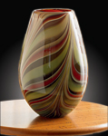 Art Glass Vase by Christopher Jeffries