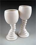 Ceramic Goblets by Lilach Lotan