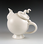 Ceramic Teapot by Lilach Lotan