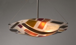 Art Glass Ceiling Light by Renato Foti