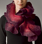 Silk & Wool Scarf by Jenne Giles