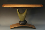 Wood Console Table by Derek Secor Davis