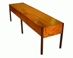 Wood Bench by Brandon Phillips