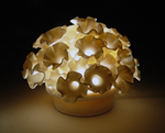 Ceramic Lamp by Lilach Lotan