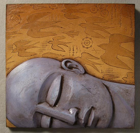 Fig. 4c: The Dream - Ceramic Wall Art - by Steve Gardner