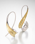 Silver & Gold Earrings by Nancy Linkin