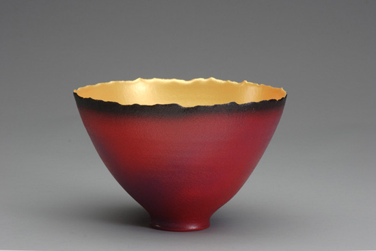 Prosperity Bowl (#3) - Ceramic Bowl - by Cheryl Williams