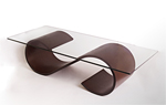 Wood Coffee Table by Richard Judd