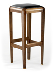 Wooden Stool by Glenn Ward