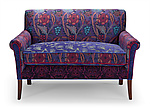 Upholstered Settee by Mary Lynn O'Shea