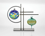 Metal Ornament Stand by Julie Girardini