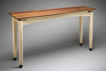 Wood Console Table by Kipley Meyer