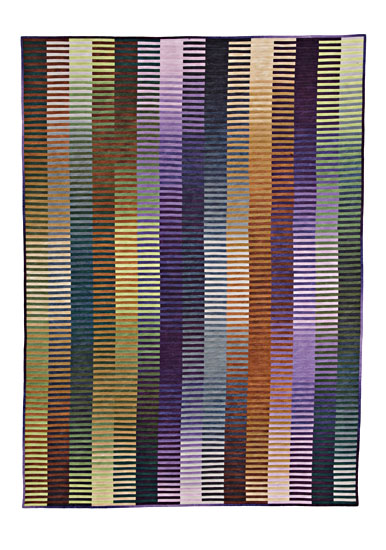 Light-Emitting Fabric - Art Quilt - by Kent Williams