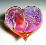Art Glass Paperweight by Robert Burch