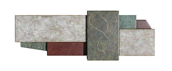 Wallpiece 05.35 - Metal Wall Art - by David M Bowman and Reed C Bowman