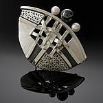 Silver Brooch by Chi Cheng Lee
