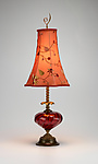 Mixed Media Table Lamp by Caryn Kinzig