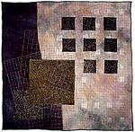 Cotton & Silk Quilt by Michele Hardy