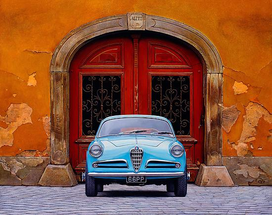 Alfa Romeo - Pigment Print - by Christopher Young