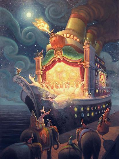 When My Ship Comes In - Giclee Print - by Mark Bryan