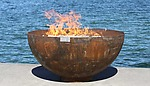 Metal Fire Pit by John T. Unger