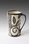 Ceramic Mug by Jennifer  Falter