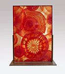 Art Glass Sculpture by Dierk Van Keppel