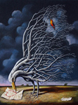 Serigraph Print by Rafal Olbinski