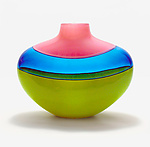 Art Glass Vessel by Michael Trimpol