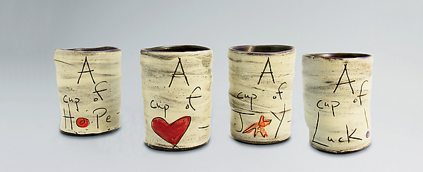 Cups of... - Ceramic Mugs - by Eric Hendrick and Noelle Van Hendrick