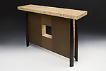 Wood Console Table by Douglas W. Jones