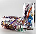 Art Glass Tumblers by Justin Tarducci