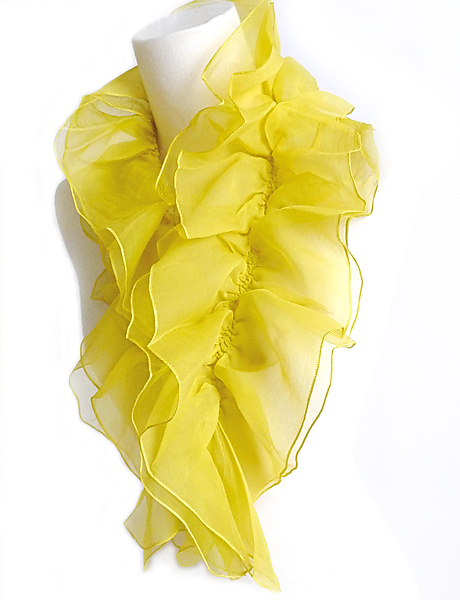 Petal of Silk Scarf - Silk Scarf - by Yuh Okano
