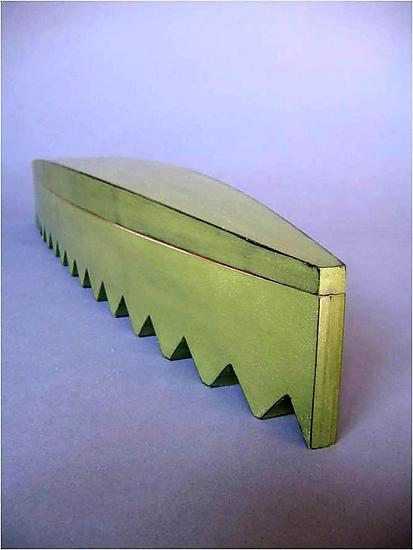Alligator Container - Wood Vessel - by Cosmo Barbaro