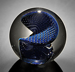 Art Glass Paperweight by Josh Simpson