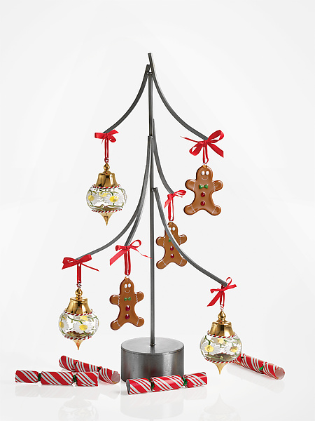 Tree Ornament Display - Metal Ornament Stand - by Julie Girardini and Ken Girardini