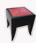 Wood Side Table by Kevin Irvin