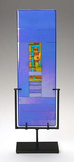 Windows - Art Glass Sculpture - by Lynn Latimer