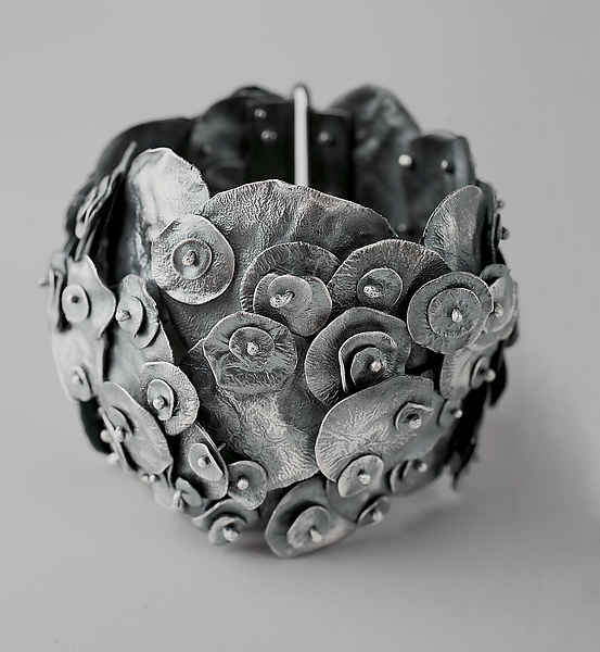 Reticulation Bracelet - Silver Bracelet - by Monique Rancourt