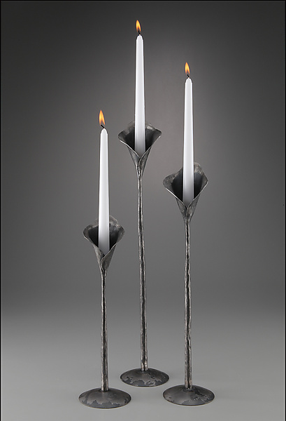 Calla Lily Candle Holders - Metal Candleholders - by Luke Proctor