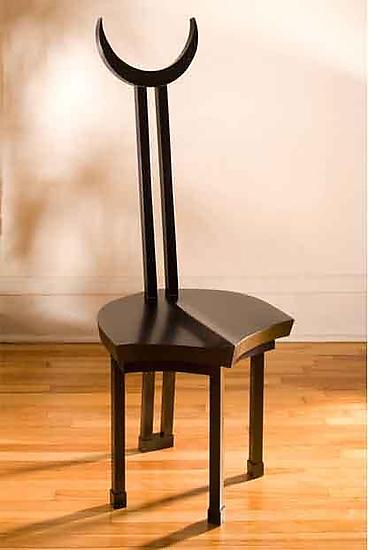 Himba Chair - Wood Chair - by Nathalie Guez