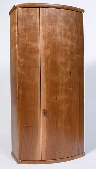 Opening - Wood Cabinet - by Karel Aelterman