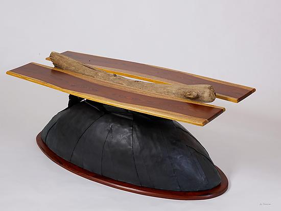 Emergence - Wood Coffee Table - by Karel Aelterman