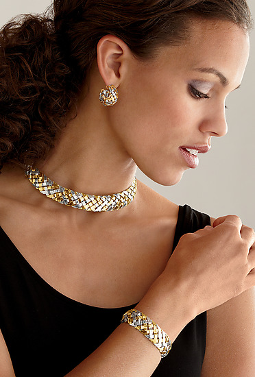 18K and Sterling Hand-Woven Jewelry - Gold & Silver Jewelry - by Gabriel Ofiesh